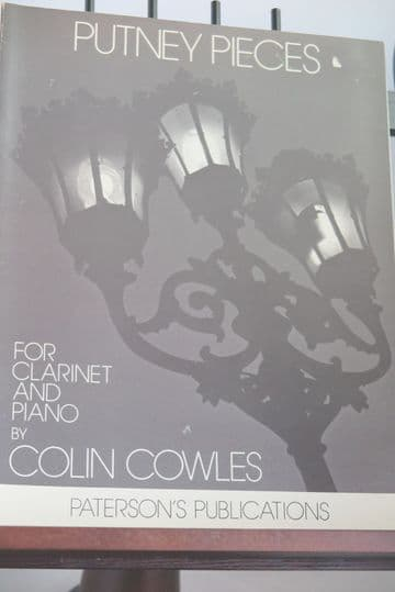 Cowles C - Putney Pieces for Clarinet & Piano